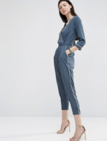 "Dusty Blue ""PJ"" Jumpsuit"