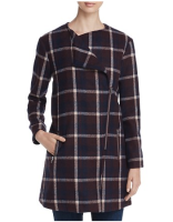 Preppy Plaid Coat