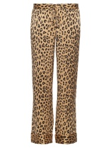 Wide Leg Leopard Pants