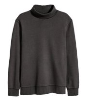 Baggy Turtleneck Sweatshirt